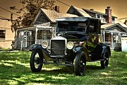 Ford Model T Car Framed Prints - 1926 Ford Model T Framed Print by Tim McCullough