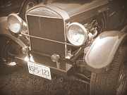 Wild Rose Studio - 1926 Model T Ford- Sepia