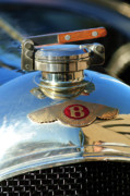 Hoodie Art - 1927 Bentley Hood Ornament by Jill Reger