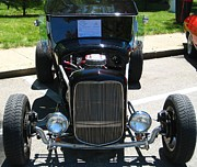 Ford Model T Car Prints - 1927 Ford Model T Print by Bryan Wulf
