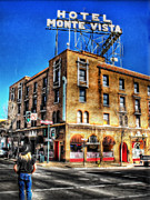 Route 66 Photos - 1927 Hotel Monte Vista - Flagstaff  by Saija  Lehtonen