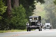Pierce-arrow Photo Prints - 1927 Pierce-Arrow 36 Enclosed Drive Limousine  Print by Jill Reger