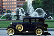 Ford Sedan Prints - 1928 Model A Ford Sedan Print by Tim McCullough