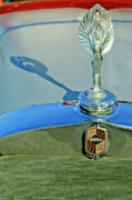Car Mascot Prints - 1928 Nash Coupe Hood Ornament 3 Print by Jill Reger