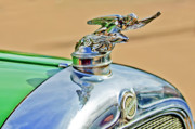 Car Mascots Prints - 1928 Studebaker Hood Ornament Print by Jill Reger