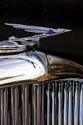 Car Mascot Prints - 1929 Duesenberg Model J Hood Ornament Print by Jill Reger