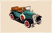 1929 Ford Cabriolet Print by Garry Staranchuk