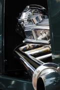 Car Detail Prints - 1929 Ford Roadster Pickup Engine Print by Jill Reger