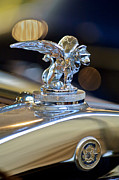 Gardner Framed Prints - 1929 Gardner Series 120 Eight-in-Line Roadster Hood Ornament 3 Framed Print by Jill Reger