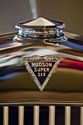 Vintage Hood Ornament Photo Framed Prints - 1929 Hudson Cabriolet Hood Ornament Framed Print by Jill Reger