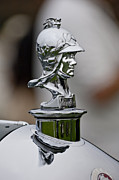 Minerva Framed Prints - 1929 Minerva Type AM Murphy Convertible Sedan Hood Ornament Framed Print by Jill Reger