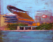 Football Paintings - RCNpaintings.com by Chris N Rohrbach