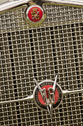 1930 Prints - 1930 Cadillac 452 Fleetwood Grille Emblem Print by Jill Reger