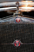 Historic Vehicle Photo Prints - 1930 Cadillac Roadster Hood Ornament 3 Print by Jill Reger