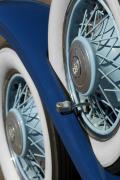 Car Detail Prints - 1930 DB Dodge Spare Tire Print by Jill Reger