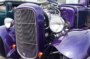 Purple Ford Photos - 1930 Ford Coup Purple Hot Rod by Glenn Gordon