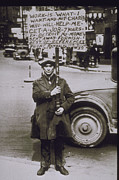 Social Issues Art - 1930, Scene Of The Depression In Detroit by Archive Holdings Inc.