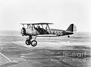 Historic Aviation Photos - 1930s Pilot Training by Omikron