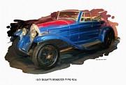 RG McMahon - 1931 Bugatti Roadster Type 40a