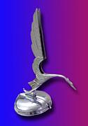 1931 Cadillac V-16 Heron Mascot Print by Jack Pumphrey