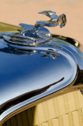 Hoodies Photos - 1931 Chrysler CN Roadster Hood Ornament 3 by Jill Reger