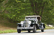 1931 Roadster Prints - 1931 Duesenberg J Packard Roadster  Print by Jill Reger