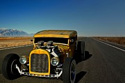 Model A Sedan Photos - 1931 Ford Model A Sedan Rat Rod by Tim McCullough