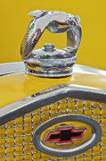 Car Mascot Metal Prints - 1931 Ford Quail Hood Ornament 2 Metal Print by Jill Reger