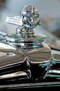 Car Mascots Prints - 1931 Stutz DV-32 Sedan Hood Ornament Print by Jill Reger