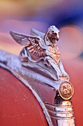 Griffin Framed Prints - 1932 Essex Griffin Hood Ornament 4 Framed Print by Jill Reger