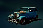 Ford Sedan Prints - 1932 Ford Sedan  Print by Tim McCullough