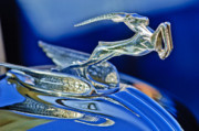 Car Mascot Metal Prints - 1933 Chrysler Imperial Hood Ornament Metal Print by Jill Reger