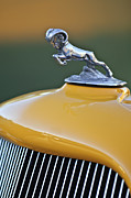 Ram - 1933 Dodge Ram Hood Ornament by Jill Reger