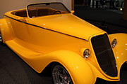 Racecars Prints - 1933 Ford Roadster - 7D17183 Print by Wingsdomain Art and Photography