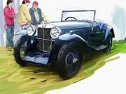 RG McMahon - 1933 M G J2