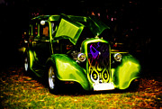 Custom Auto Prints - 1933 Plymouth Hot Rod Print by Phil