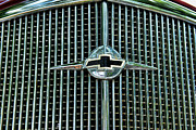 Flying Eagle Prints - 1934 Chevrolet Grill  Print by Paul Ward