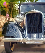 Manipulation Digital Art - 1934 Dodge by Scott Norris