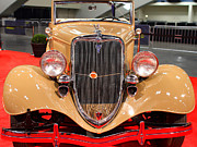 Transportation Photo Prints - 1934 Ford Model 40 Deluxe Cabriolet . 7D9200 Print by Wingsdomain Art and Photography