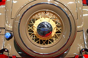 American Car Art - 1934 Ford Model 40 Deluxe Cabriolet . 7D9357 by Wingsdomain Art and Photography