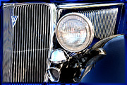 V8 Car Photos - 1934 Model B Ford V8 by Lyle  Huisken