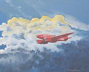 Aviationart Prints - 1934 October Sunrise Print by Murray McLeod