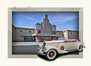 Autoart Prints - 1934 Pierce Arrow 124A Convertible Print by Roger Beltz