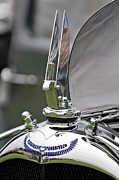 Best Of Show Prints - 1934 Voisin C-25 Aerodyne Hood Ornament Print by Jill Reger