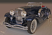 Lyon Prints - 1934 Walker LaGrande Duesenberg  Print by Bill Dutting