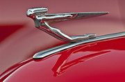 Car Mascot Metal Prints - 1935 Auburn Hood Ornament 2 Metal Print by Jill Reger