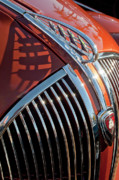 Hoodie Art - 1935 Plymouth Hood Ornament by Jill Reger