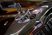 Car Detail Prints - 1936 Bentley Print by David Patterson