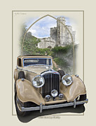 Autoart Prints - 1936 Bentley Derby Print by Roger Beltz