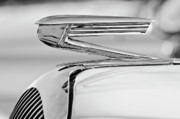 Car Mascots Framed Prints - 1936 Buick 40 Series Hood Ornament 2 Framed Print by Jill Reger